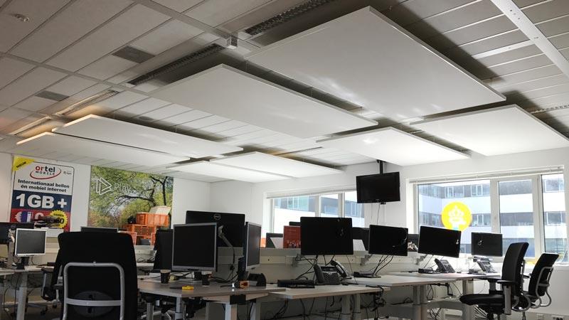 simyo akoestisch paneel plafond callcenter